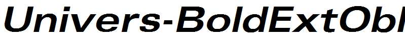 Univers-BoldExtObl