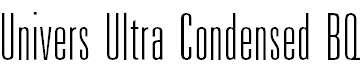 UniversUltraCondensedBQ-UltraLight