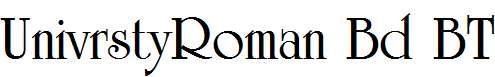 University-Roman-Bold-BT