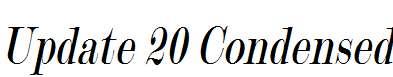 Update-20-Condensed-Italic