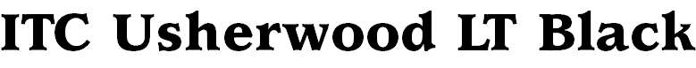 UsherwoodLT-Black