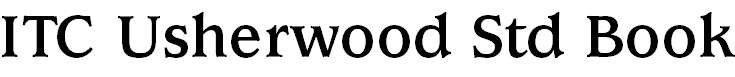 UsherwoodStd-Bold