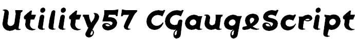 Utility57-CGaugeScript
