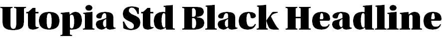 UtopiaStd-BlackHeadline