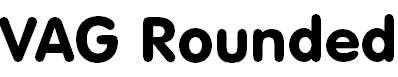 VAGRoundedBT-Regular