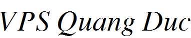 VPS-Quang-Duc-Italic