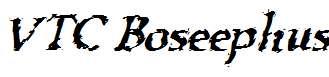 VTC-Boseephus-RegularItalic