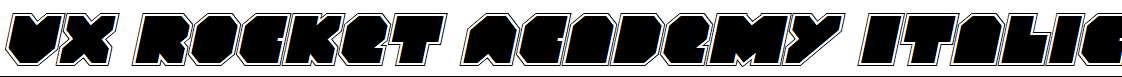 VX-Rocket-Academy-Italic