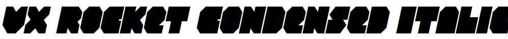 VX-Rocket-Condensed-Italic