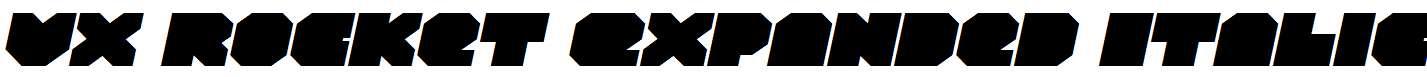 VX-Rocket-Expanded-Italic