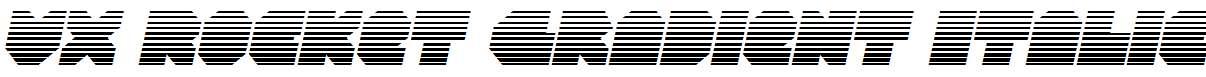 VX-Rocket-Gradient-Italic