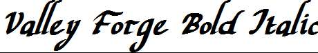 Valley-Forge-Bold-Italic