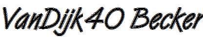 VanDijk40-Becker