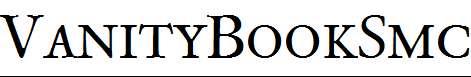 VanityBookSmc-Regular