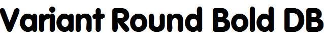 Variant-Round-Bold-DB