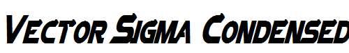 Vector-Sigma-Condensed-Italic
