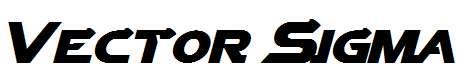 Vector-Sigma-Italic