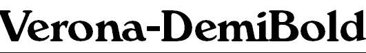 Verona-DemiBold
