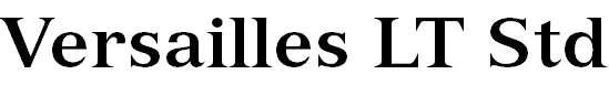 VersaillesLTStd-Bold