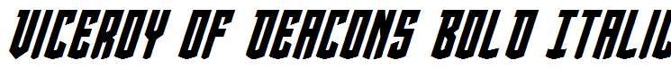 Viceroy-of-Deacons-Bold-Italic