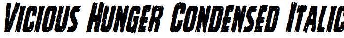 Vicious-Hunger-Condensed-Italic