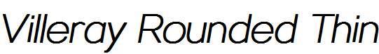 Villeray-Rounded-Thin-Italic