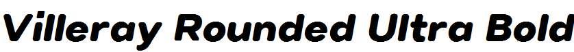 Villeray-Rounded-Ultra-Bold-Italic