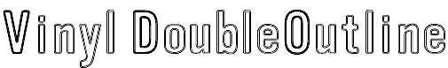 VinylDoubleOutline