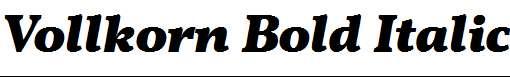 Vollkorn-Bold-Italic