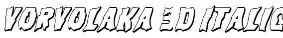 Vorvolaka-3D-Italic