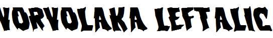 Vorvolaka-Leftalic