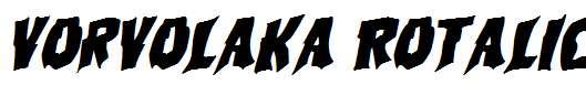 Vorvolaka-Rotalic