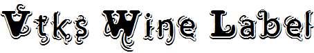 Vtks-Wine-Label