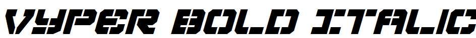 Vyper-Bold-Italic