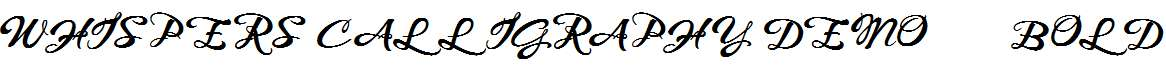 WHISPERS-CALLIGRAPHY_DEMO_sinuous_BOLD