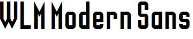 WLM-Modern-Sans-Regular