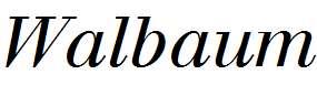 Walbaum-Italic-Oldstyle-Figures