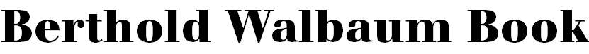 WalbaumBook-Bold