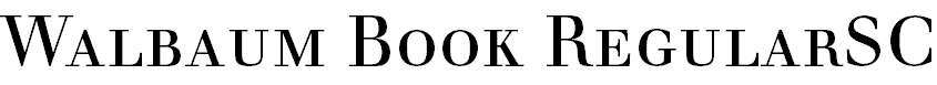 WalbaumBook-RegularSC