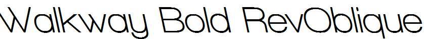 Walkway-Bold-RevOblique