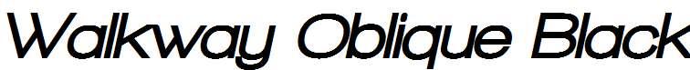 Walkway-Oblique-Black