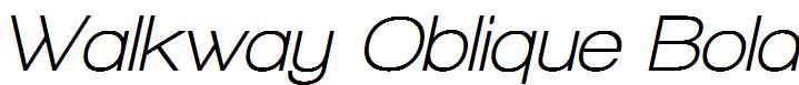 Walkway-Oblique-Bold