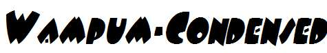 Wampum-Condensed-Italic