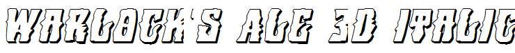 Warlock-s-Ale-3D-Italic