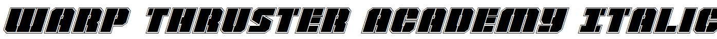 Warp-Thruster-Academy-Italic