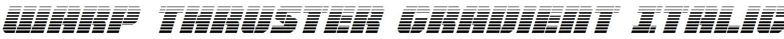 Warp-Thruster-Gradient-Italic