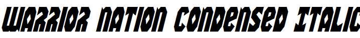 Warrior-Nation-Condensed-Italic