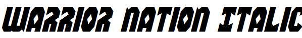 Warrior-Nation-Italic
