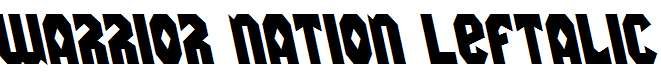 Warrior-Nation-Leftalic