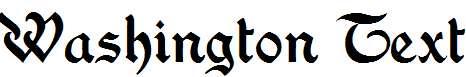 Washington-Text
